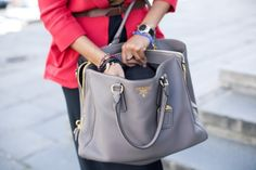 Gray prada bag-wish list! 7a39f6327d59c