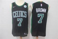 e9b11751c Nike NBA Boston Celtics  7 Jaylen Brown Jersey 2017 18 New Season Black  Jersey