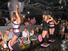 The Flirty Girls party at Underground