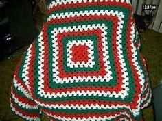 crocheted a Christmas Afghan!   Crochet