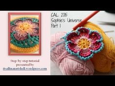 Step-by-step instructions for Sophie's Universe part 1. The 8 rounds shown in this video are also part of Sophie's Garden and Sophie's Mandala. This video is...