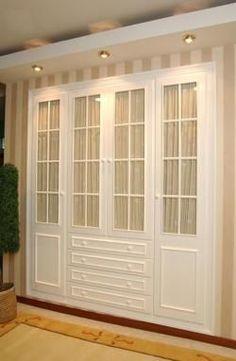 Closet Bedroom, Home Bedroom, Bedroom Decor, Dining Decor, Closet Designs, Classic House, Home Interior Design, Sweet Home, New Homes