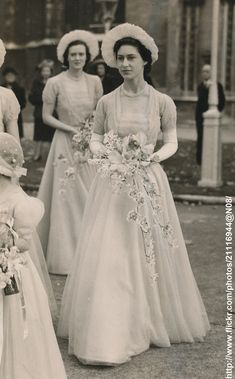 DATE:October 20 1948 D: Princess Margaret as bridesmaid at wedding of Lady Margaret Egerton and Mr.John Colville,Private secreatary of Princess /original photo Princess Margaret Wedding, Princess Elizabeth, Royal Princess, Queen Elizabeth Ii, Princess Diana, Royal Uk, Royal Life, Royal House, Princesa Margaret