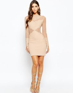 Love Triangle | Love Triangle Sneak A Peek Lace Dress at ASOS