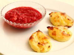 Babyrezept für Püreewölkchen. Einfaches Fingerfood aus Kartoffeln für Babys ab 6 Monaten, schmeckt süß und herzhaft, Baby led weaning, BLW