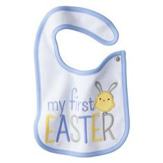 Just One You™Made by Carter's® Newborn Boys' My First Easter Bib Blue
