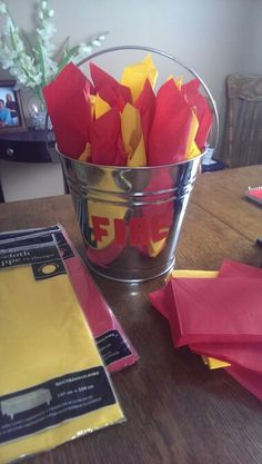 Fire Fighter Retirement Party Ideas