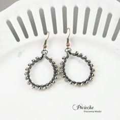 Silver retro - kolczyki (proj. Pracownia miedzi - Pociecha), do kupienia w DecoBazaar.com