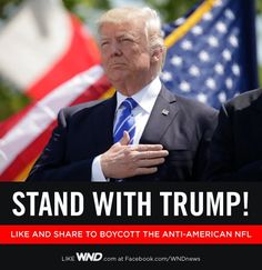 I do stand with President Trump!!.
