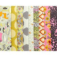 Moon Shine in Dandelion - Fat Quarter Bundle. $40.50 Tula Pink's done it again! Moon Shine is a fantasy camping trip full of mystery and wonder.
