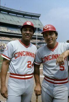 Tony Perez & Johnny Bench