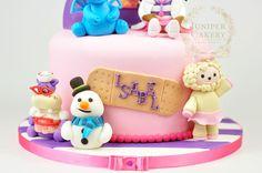 Cute Doc McStuffins cake made by Juniper Cakery