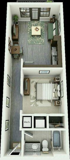 alliel rdc bd rvb72 Home   Apartement Konsep Pinterest House