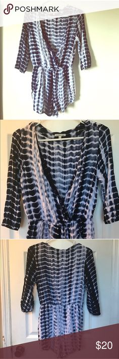 Charlotte Russe tye dye romper great condition! just too small for me now Charlotte Russe Pants Jumpsuits & Rompers