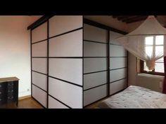 les 197 meilleures images du tableau cloison japonaise coulissante et porte sur pinterest. Black Bedroom Furniture Sets. Home Design Ideas