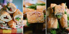 sundried tomatoes, buffalo mozzarella, arugula, black olive/basil pest - prosciutto optional - perfect picnic sandwiches!