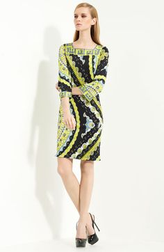 Emilio Pucci Print Jersey Dress available at Nordstrom