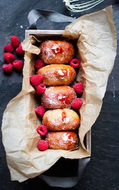 The most delicious doughnut recipes of all time - starting with these raspberry and sweet cream ones. Get the recipe here