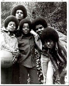 The Jackson 5 :)  - Cuteness in black and white ღ  by ⊰@carlamartinsmj⊱