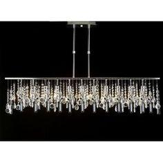 Linear Chandelier Lighting Lamp - for my walk-in closet