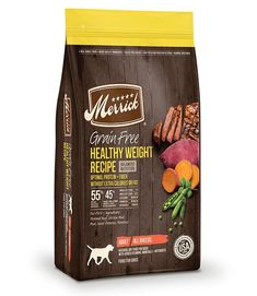 Merrick Grain Free Healthy Weight Recipe Dry Dog Food - 22-lb