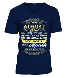 # I'M AN AUGUST GIRL. I WAS BORN WITH MY HEART ON MY SLEEVE… .  See more AUGUST designs at 2 link below:https://www.teezily.com/stores/august_woman_tshirt_birthdayhttps://www.teezily.com/stores/i-am-an-august-girl-tshirtOr search for your dreams here:Special Offer, not available anywhere else!      Available in a variety of styles and colors      Buy yours now before it is too late!      Secured payment via Visa / Mastercard / Amex / PayPal / iDeal      How to place an order…