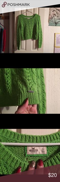 💐Green Hollister Sweater💐 Super warm & soft! 💕💕 Hollister Sweaters