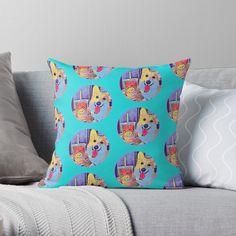 Corgi and tea Corgi Dog, Iphone Phone Cases, Dog Lovers, Throw Pillows, Tea, High Tea, Cushions, Decorative Pillows, Decor Pillows