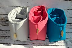 Water resistant CORAL Camera Bag DSLR, photograhers gear,  camera insert for purse or backpack by Darby Mack, in stock