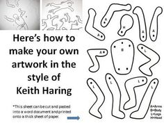 Keith Haring Art Project