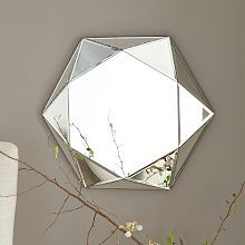 Faceted Mirror from West Elm