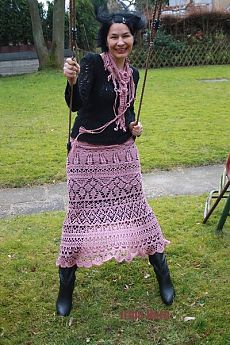 Vintage Crochet Patterns, Rubrics, African Fashion, Lace Skirt, Pullover, Knitting, Skirts, Sweaters, Clothes
