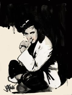 -Joe Petruccio Elvis Paintings