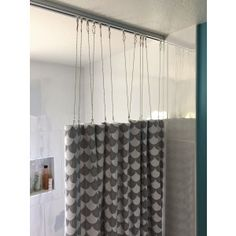 Shower Curtain Track Using 88001 Track And 7185 Drop Chains Amy