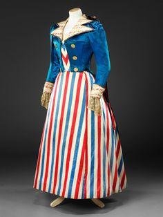 Fancy Dress Costume, early 1890s