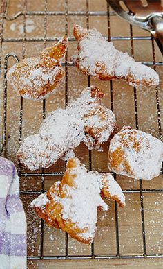 Powdered Sugar Beignets Recipe