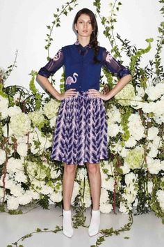 Noon by Noor Resort 2014 Flamingo and Palm Tree Prints