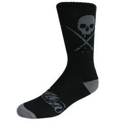 Standard Issue Socks Black/Gray