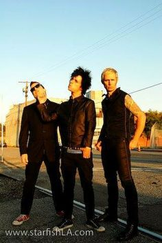 Tre, Billie & Mike.