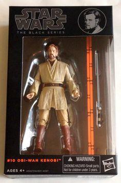 Hasbro Star Wars Black Series 6 Inch Action Figure Obi-Wan Kenobi  #10  #Hasbro