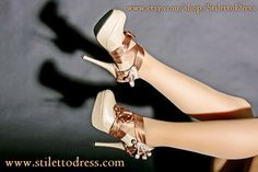 Bronze Lady --  If you like what you see, check out our webshops for more!   www.stilettodress.com --  www.etsy.com/shop/StilettoDress