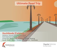 Ultimate Road Trip - Calicut #RoadTrip #Kerala #Beach #Food #Boating