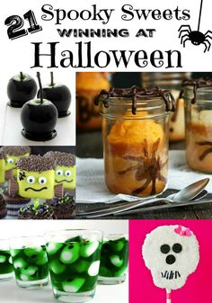 21 Spooky Sweets Winning at Halloween