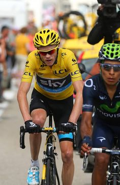 Le Tour de France 2013 - Stage Fifteen. Froome and Quintana
