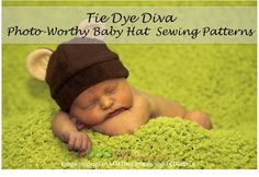 More adorable hat sewing patterns for your little one #sewing #sewingpattern #infant #baby #photography #props
