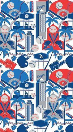 Los Angeles Dodgers, Abstract, Artwork, Kids Rugs, Decor, Summary, Work Of Art, Decoration, Dodgers Baseball