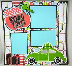 Road Trip - Creative Memories Traveler Cricut Cartridge