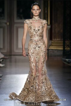 Chinese Style from Zuhair Murad A/W 11/12 Couture « Clothing Buying Guide