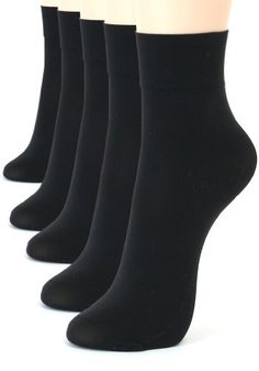 ililily 5 or 10 pairs 80D Opaque ankle high tights hosiery socks tights0123 *** Be sure to check out this awesome product.