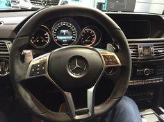 Mercedes Benz E 63 AMG S - interior